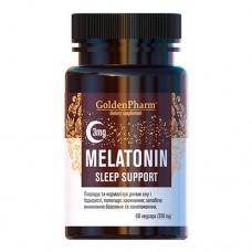 Мелатонин Поддержка сна 3 мг 60 веганских капсул