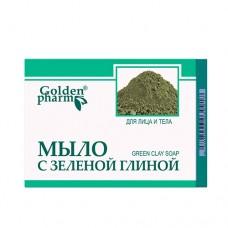 Мыло с зеленой глиной 70 г