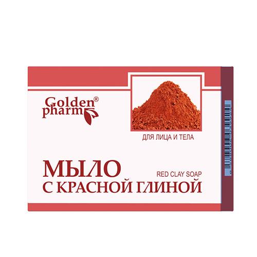 Мыло с красной глиной 70 г