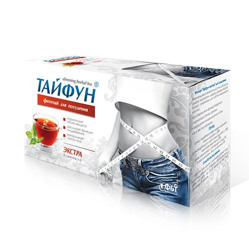 Фиточай для похудения Тайфун Экстра фильтр-пакеты 2 г № 30
