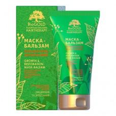 Маска-бальзам плацентарно-коллагеновая для всех типов волос Биоголд с био-золотом, кератином и протеинами шелка 150 мл