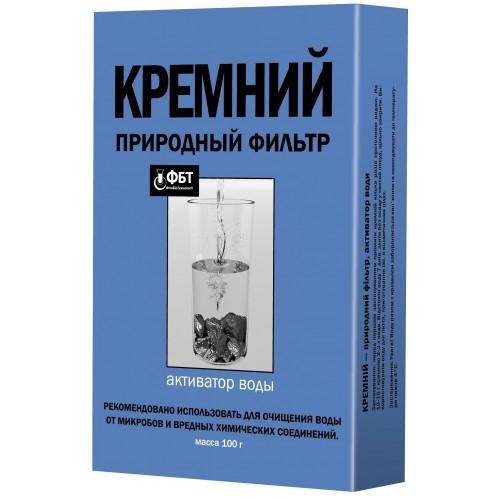 Природный фильтр-активатор воды Кремний 100 г