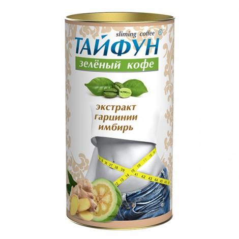 Кофе зеленый Тайфун (экстракт имбиря и гарцинии) для похудения 100 г