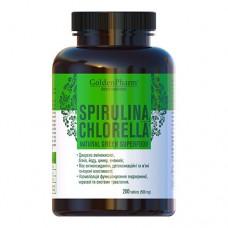 Спирулина+Хлорелла (Spirulina+Chlorella) таблетки, №200