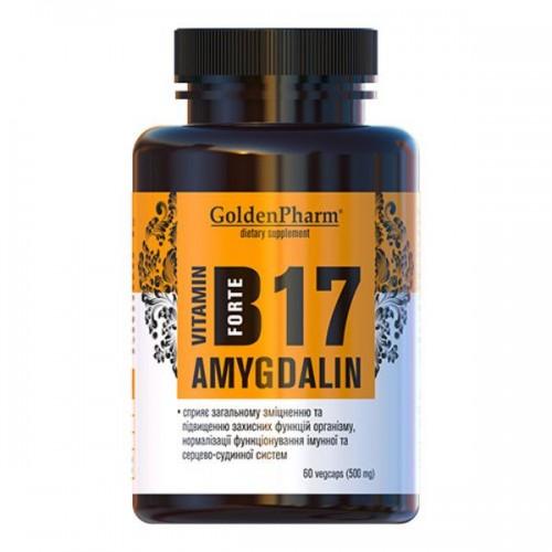 Витамин В17 Amygdalin Forte капсулы №60