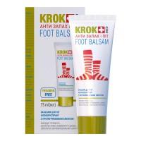 Бальзам для ног Крок Мед / Krok Med Анти Запах и Пот 75 мл