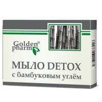 Мыло DETOX с бамбуковым углем 70г
