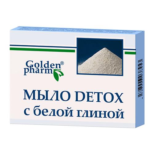Мыло DETOX с белой глиной 70г